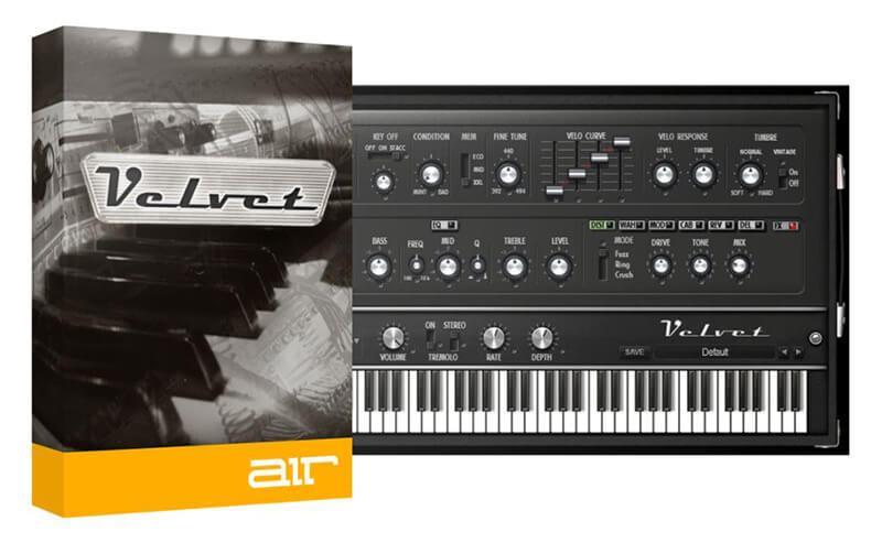 AIR Music Technology Velvet Two