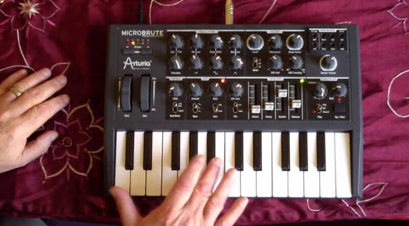 Arturia Micro Brute Synth for Bass