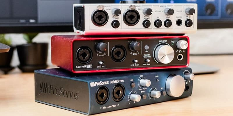 Best Audio Interface For Guitar 2021: Top Full Review, Guide