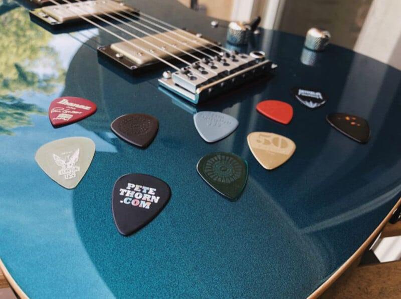 D'Addario Pearl Celluloid Guitar Picks