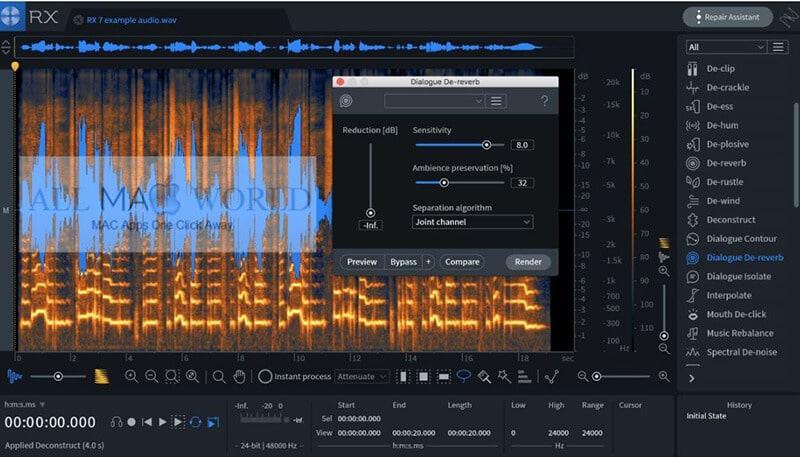 Izotope RX7 Audio Editor