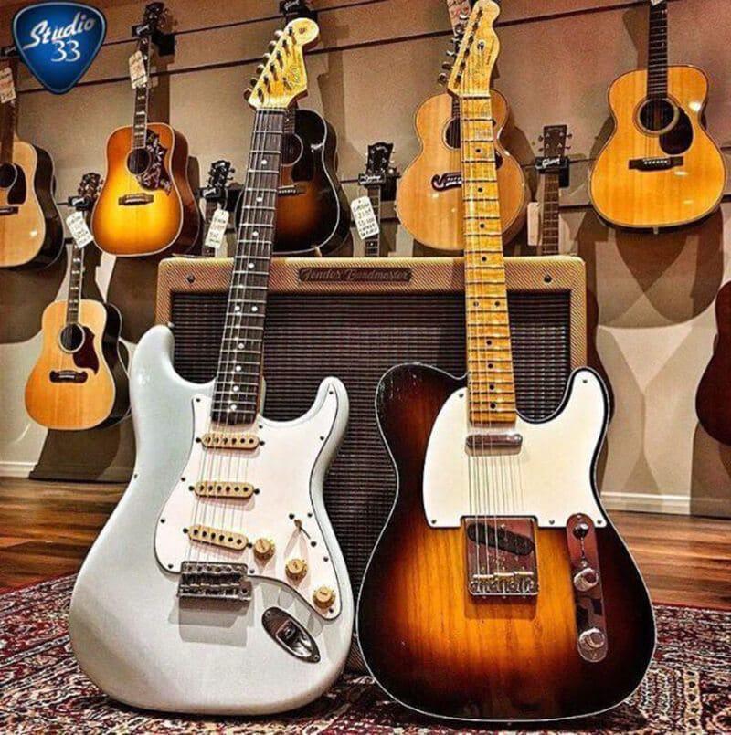 Stratocaster Hardware vs. Telecaster Hardware