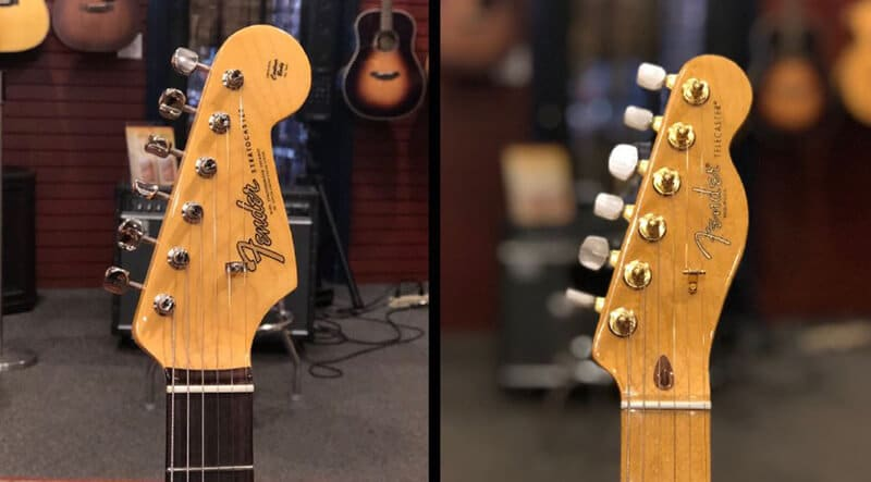 Stratocaster Necks vs. Telecaster Necks