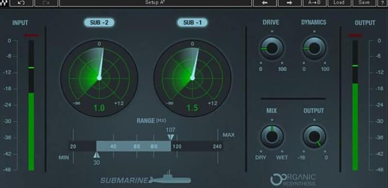 Waves Submarine