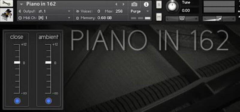 Ivy Audio Piano at 162