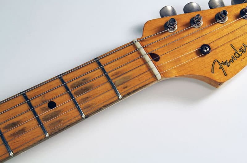 Maple fretboard