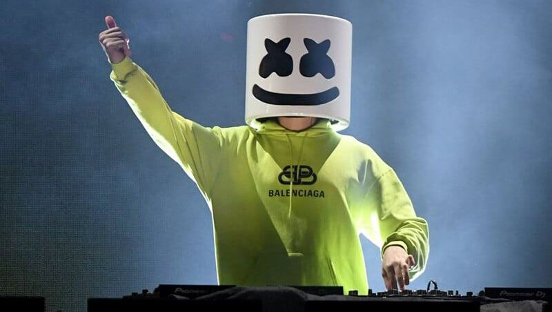 Who Is Marshmello? Behind The Mask