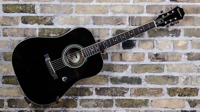 Epiphone DR-100 6-String Acoustic Guitar Full Review