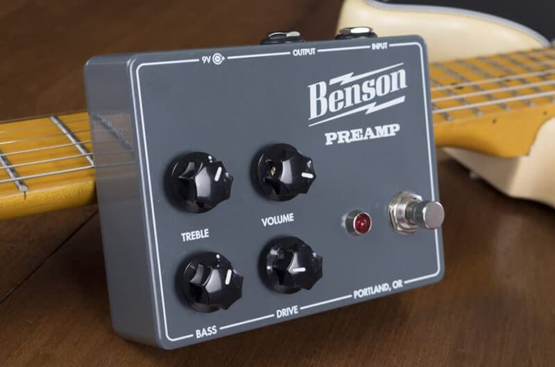 What's A Bass Preamp Pedal