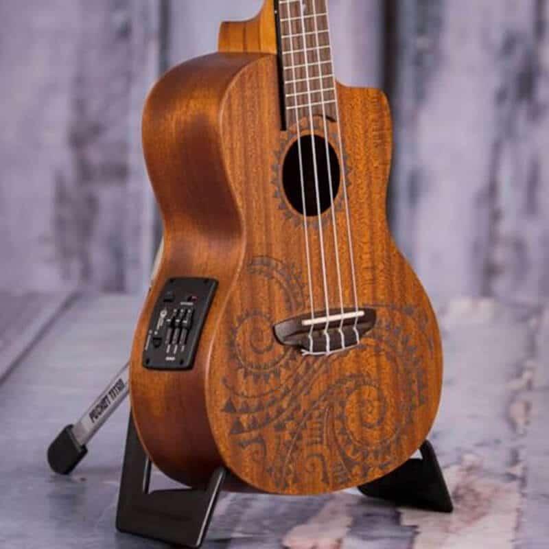 Luna Guitars Tattoo Concert Ukulele Body & Neck