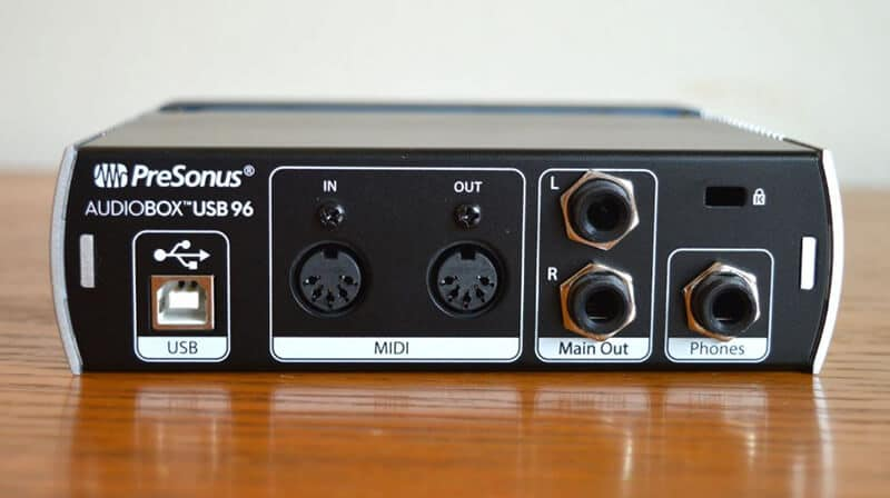 PreSonus Audiobox USB 96  Design