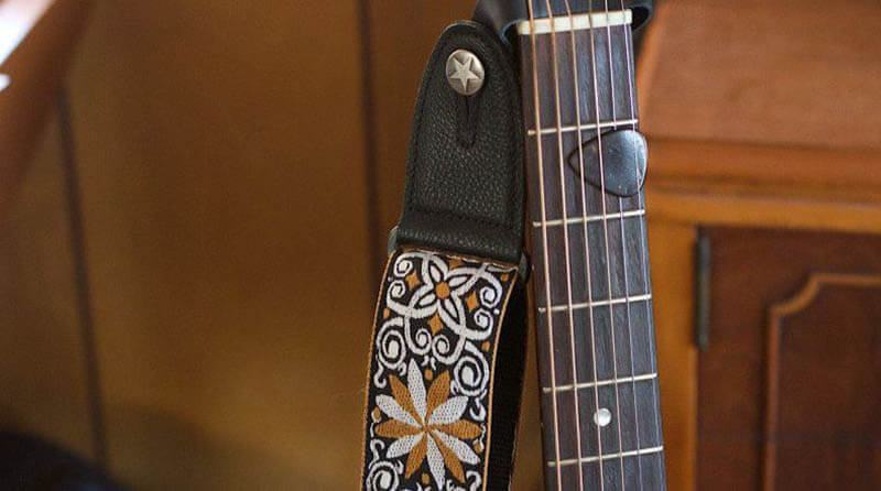 How To Put On The Guitar Strap