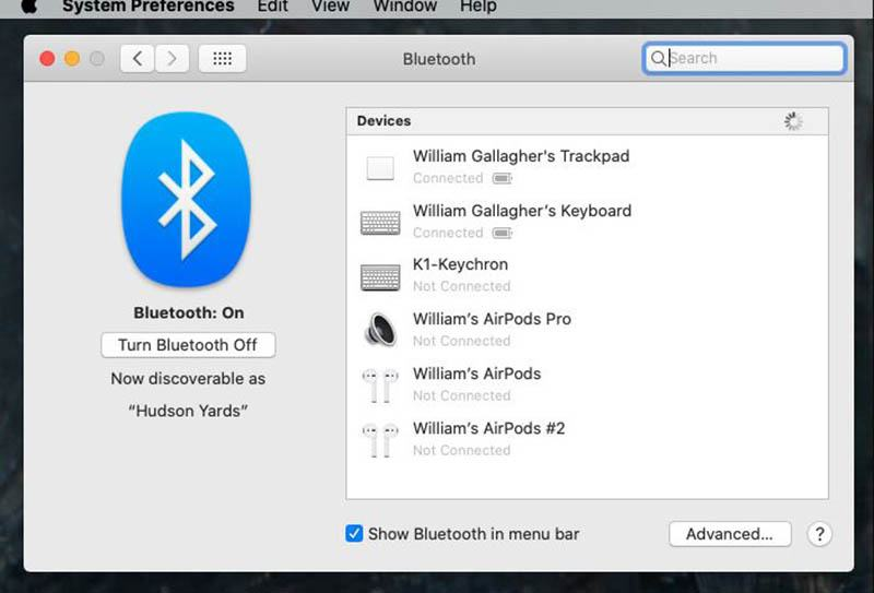 How to Connect Airpods to Mac