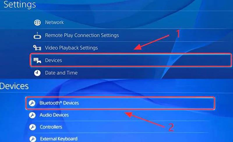 How to connect Bluetooth headphones to PS4 controller