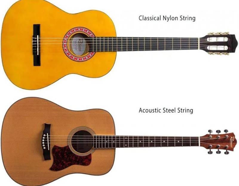 Nylon Vs. Steel String Fret Boards