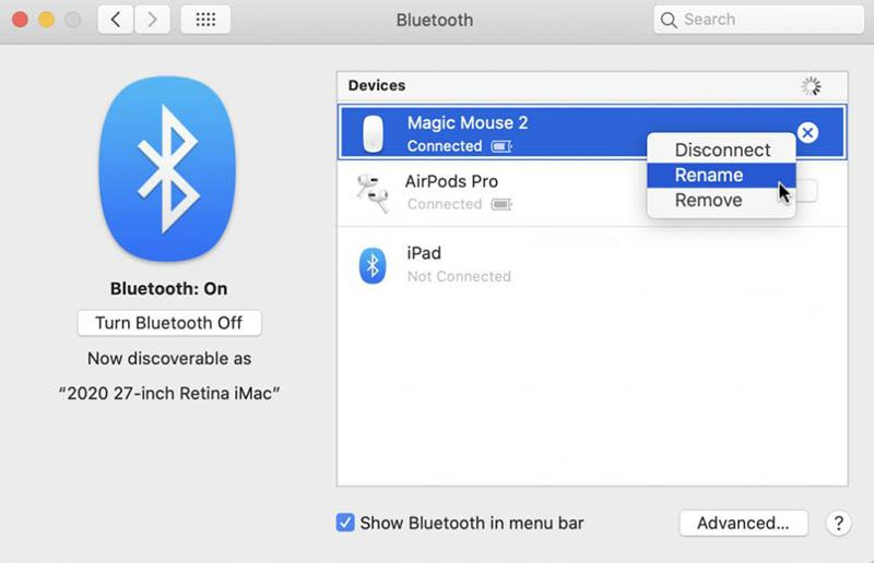 Open System Preferences in your Mac and choose