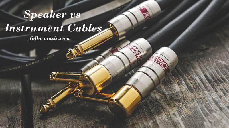 Speaker vs Instrument Cables 2021 Best Reviews