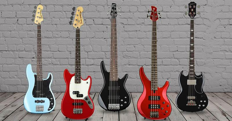 Type Of Basses For Beginners