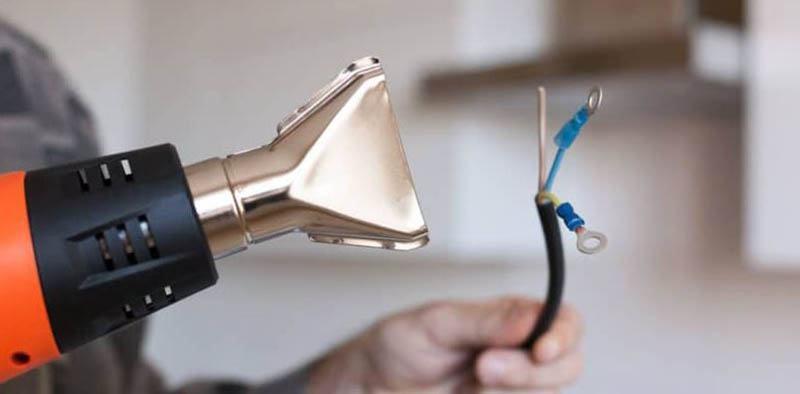 Use heat-shrink tubing