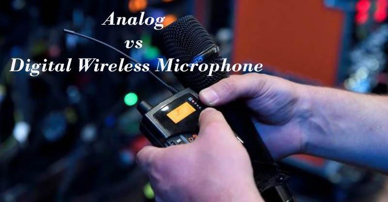 Analog vs Digital Wireless Microphone 2021 Best Reviews