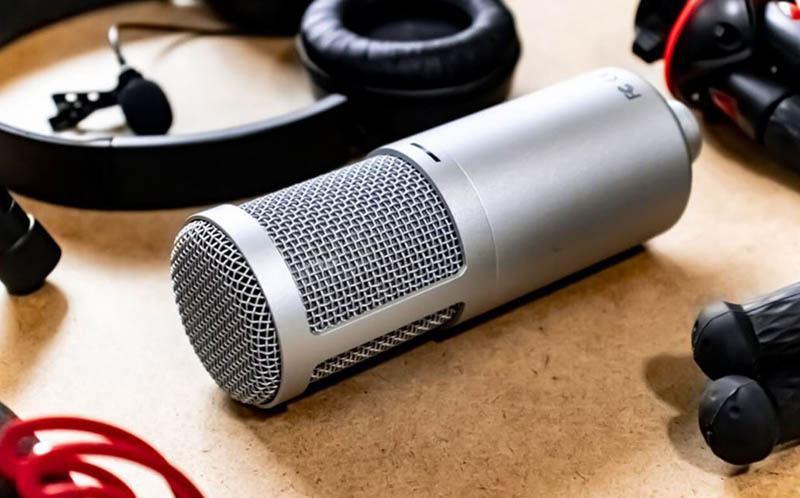 Condenser microphones are almost always active.