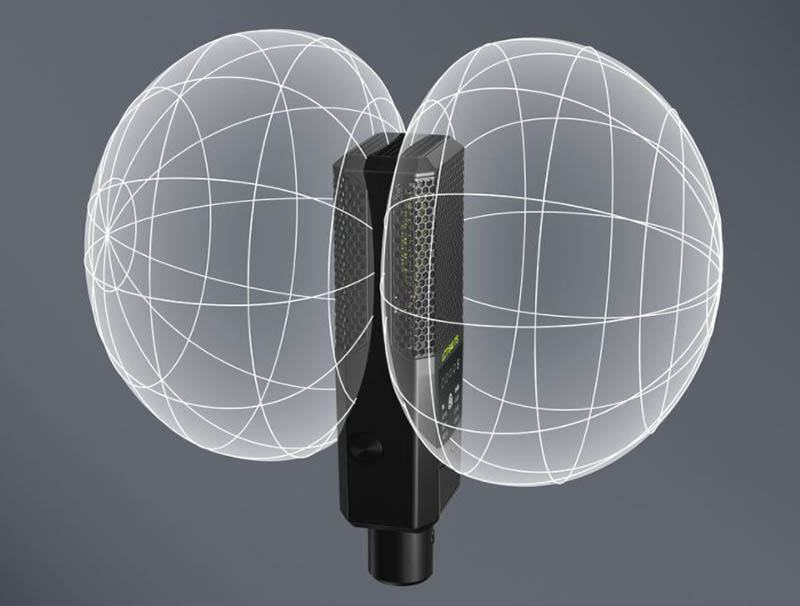 Condenser mics may have some polar patterns.