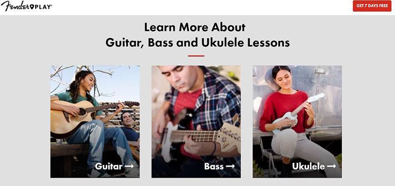Guitar Tricks Vs. Fender Play Lesson Outline
