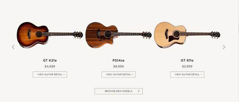 Martin Vs. Taylor Guitars Price