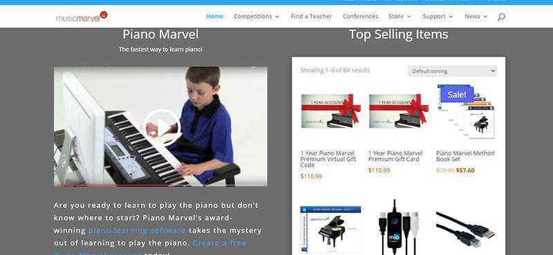Piano Marvel video