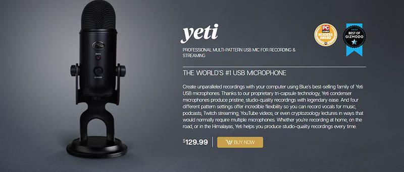 Price & Value for Money Audio Technica AT2020 vs Blue Yeti