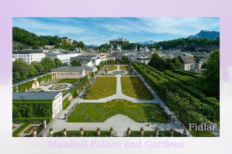 Mirabell Palace and Gardens, Salzburg
