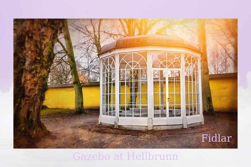Gazebo at Hellbrunn