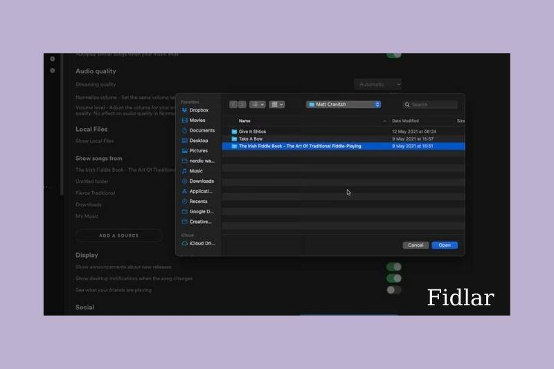 How to upload local file to Spotify on PC
