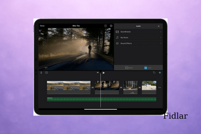Adding Spotify songs into iMovie on iPhone, iPad, and iPod Touch