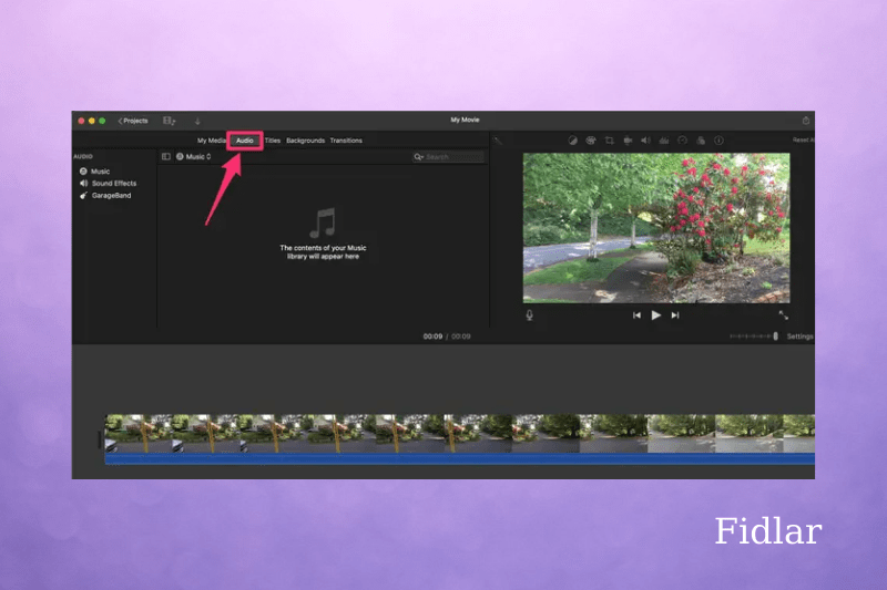 How to add music to iMovie on Mac