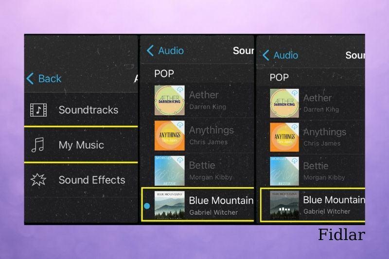 Adding music to videos with iMovie