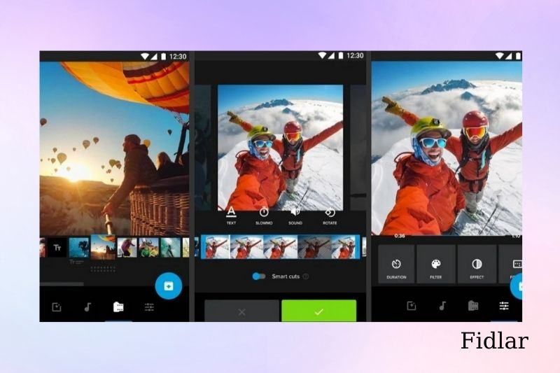 How to add music to an Instagram video post using Quik
