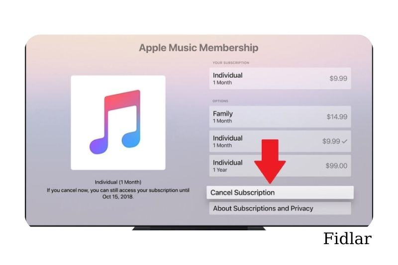 How to cancel Apple TV subscriptions