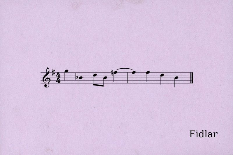 Accidentals using tied notes