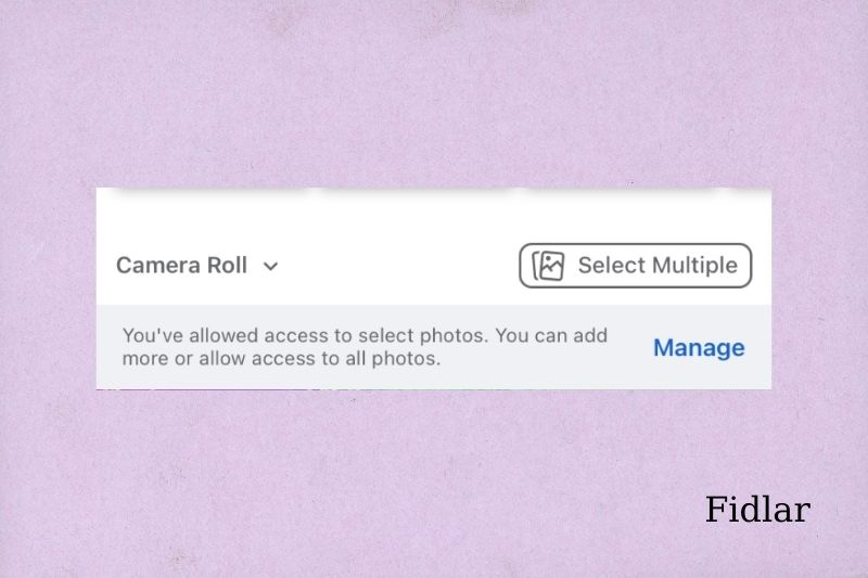 How to add multiple pictures to Facebook story with music-Step 2